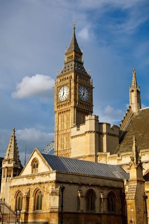 Big Ben and Houses of Parliament, London, UK photo