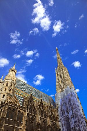 St. Stephan cathedral in Vienna, Austria, 2009 photo