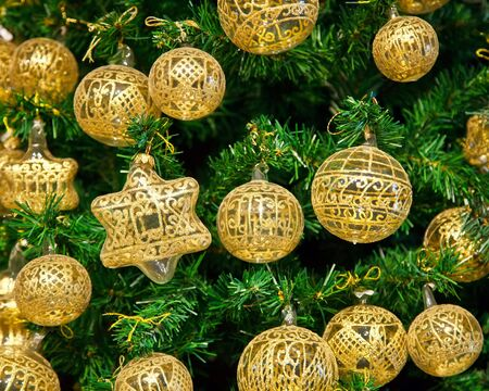 Christmas decoration on Christmas tree Stock Photo - 5734197
