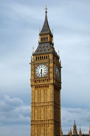 Big Ben in London at evening, UK, 2009 photo
