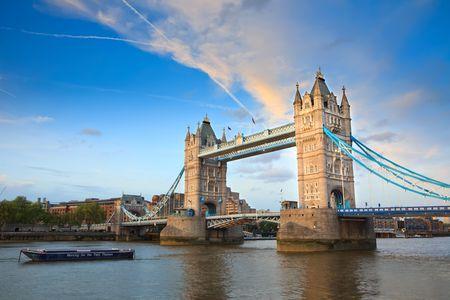 Tower Bridge, Londres, Royaume-Uni Banque d'images - 6230522