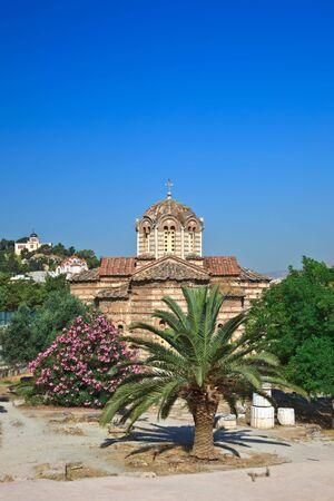 Byzantine Church in Ancient Agora, Athens photo