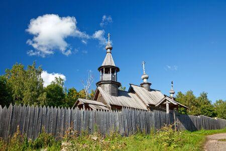 boldino: Old russian ortodox church in countryside