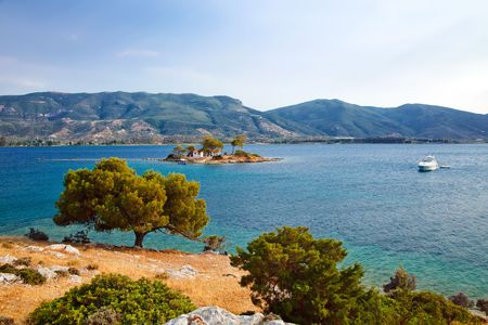 Small island in Aegean sea, Greece Stock Photo - 6367273