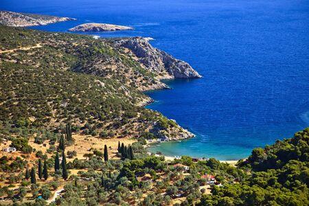 Small quiet bay, Greece Stock Photo - 6367253