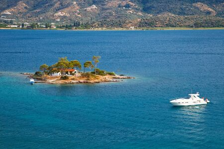 Small island in Aegean sea, Greece Stock Photo - 6460689