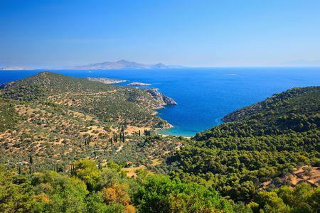 poros: Greek islands,  Poros, Greece Stock Photo