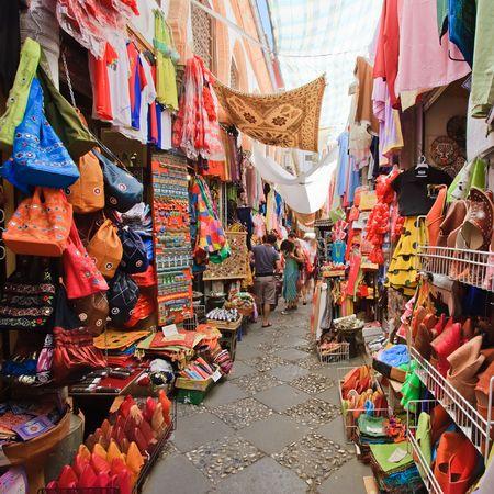 Sreet market in Granada, Spain Stock Photo