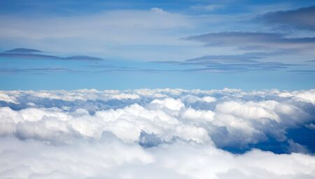 Clouds on a blue sky background Stock Photo - 6678947