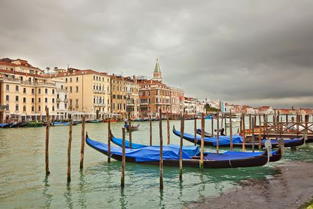 Cloudy day in Venice Stock Photo - 6818237