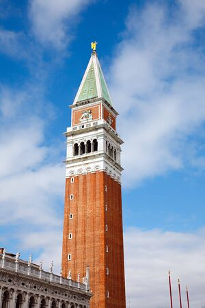 Campanile on Sant Marko piazza, Venice Stock Photo - 6818278