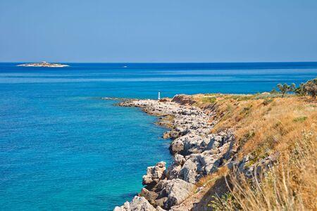 poros: Beautiful wild beach, Poros, Greece