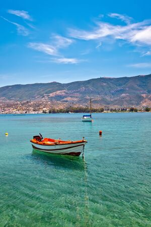 poros: Fishing boat, Aegean sea, Poros, Greece