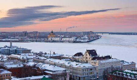 novgorod: Nizhny Novgorod at winter