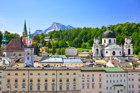 Old town Salzburg, Austria Stock Photo - 7315272