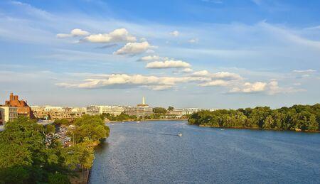 Potomac river, Washington DC photo