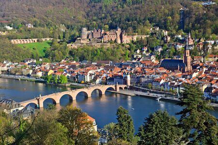 Heidelberg at spring, Germany Stock Photo - 7417187
