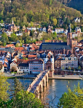 Heidelberg at spring, Germany photo