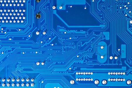 Close up of computer circuit board Stock Photo - 7512176