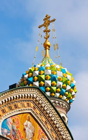 Detail of Church of Savior on Spilled Blood, St. Petersburg, Russia Stock Photo - 7605973