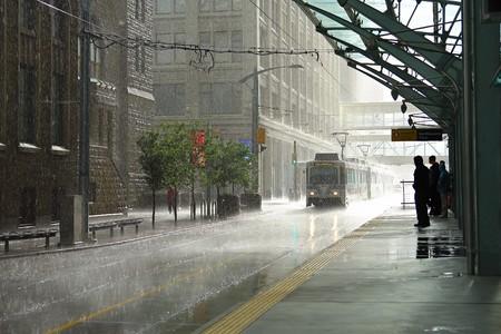 gotas de agua: Lluvia en Calgary