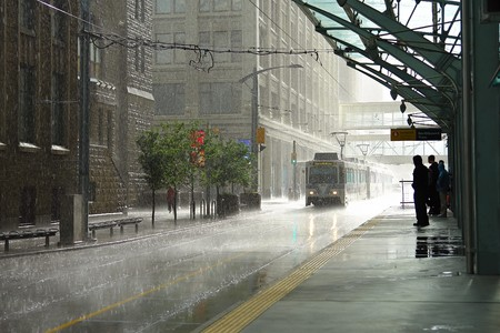 is raining: Rain in Calgary
