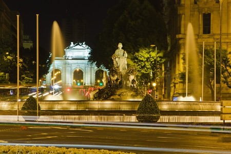 Plaza de Cibeles in Madrid, Spain photo