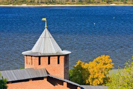 Tower of Nizhny Novgorod Kremlin, Russia photo