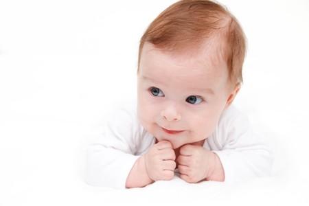 Cute crawling baby Stock Photo - 7893616
