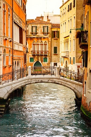 Canal in Venice photo