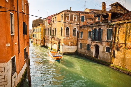 Canal in Venice Stock Photo - 8092936