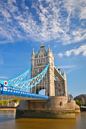 Tower Bridge in London, UK Stock Photo - 8092959