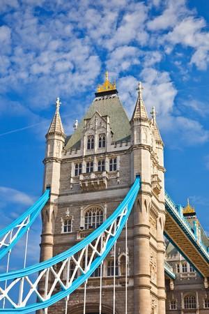Tower Bridge in London, UK Stock Photo - 8092961