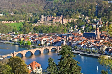View on Heidelberg, Germany photo