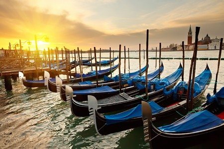 Sunrise in Venice photo
