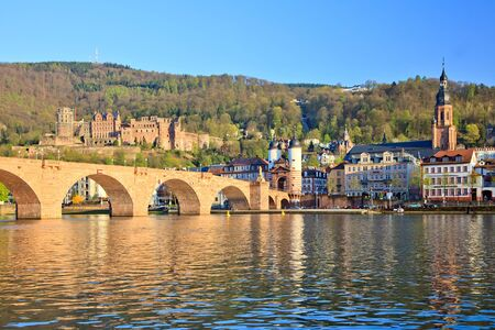 Bridge in Heidelberg, Germany Stock Photo - 8092986
