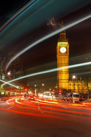 London at night, UK Stock Photo - 8160570