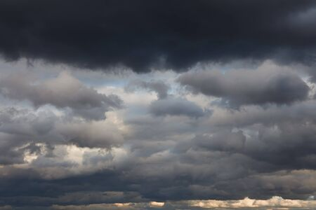 Natural backgrounds: stormy sky Stock Photo - 8160562