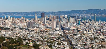 View on San Francisco from Twin Peaks Stock Photo - 8570737