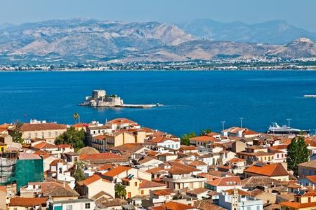 bourtzi: Bourtzi castle, Nafplion, Greece Stock Photo