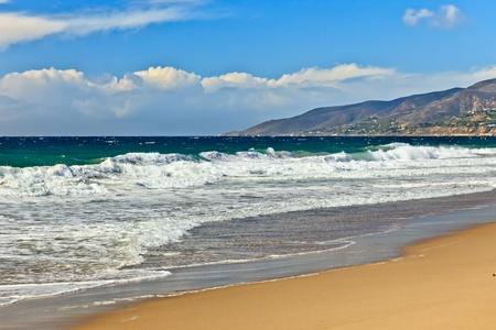 Pacfic ocean coast, CA, USA photo