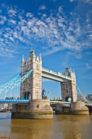 london bridge: Tower Bridge in London, UK