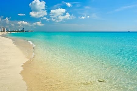 clear day: South Beach Miami, Florida