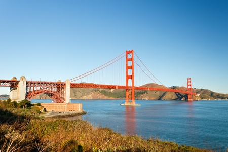 Golden Gate Bridge at morning, San Francisco photo