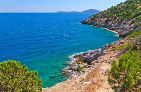 poros: Seascape in Greece, Poros