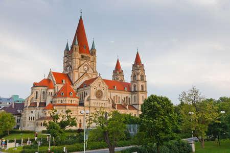 franz: Church Heiliger Franz of Assisi, Vienna, Austria