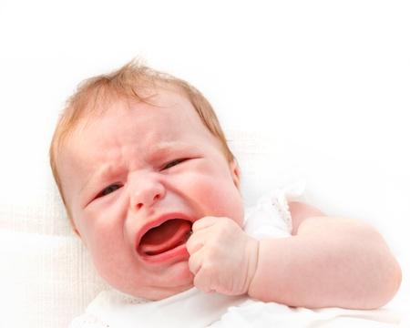 baby huilen: Huilende baby