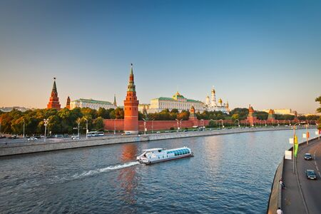 Moscow Kremlin at sunset  Stock Photo - 9019833