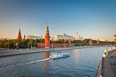 Moscow Kremlin at sunset Stock Photo - 9019833