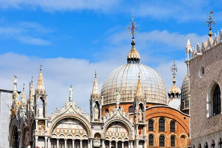 Dome of San Marko cathedral, Venice Stock Photo - 9019834